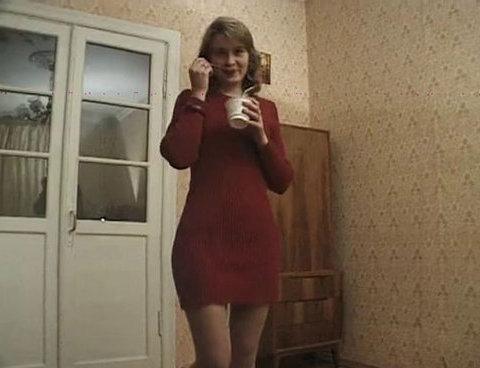 Hairy Russian Olga - MILF porn