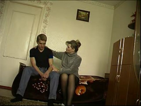 NastyPlace.org - Young guy and mature Rusian mother
