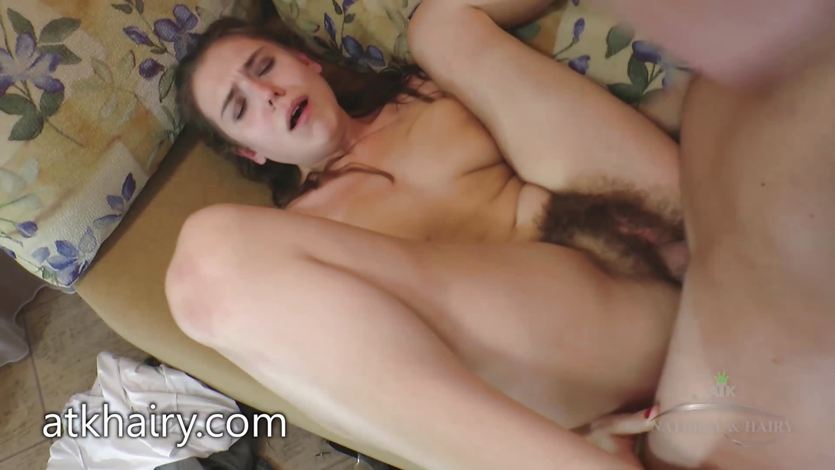 COMPILATION of Hairy bushes with cum on them | PornTube ®