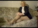 sexy granny spreading