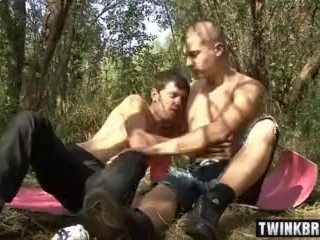 Russian twinks anal sex and cumshot