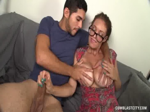 Cumblast For The Busty Milf