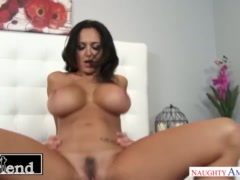 Busty Ava Addams fucks and sucks her friend's husband - Naughty America