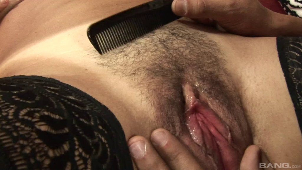 Hairy Wet Hole Of A Naughty Mature Chick Fucked By His Big Cock