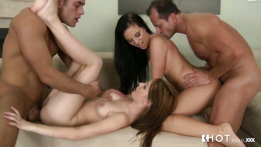 HOTGOLD Stunning Anal Czech babes | PornTube ®