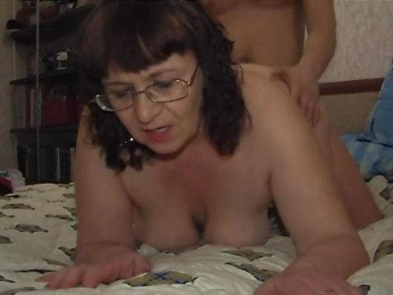 Guy fucked his big granny - Grannies porn