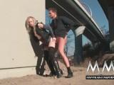 MMV Films Cute German teen blonde fucked outdoor