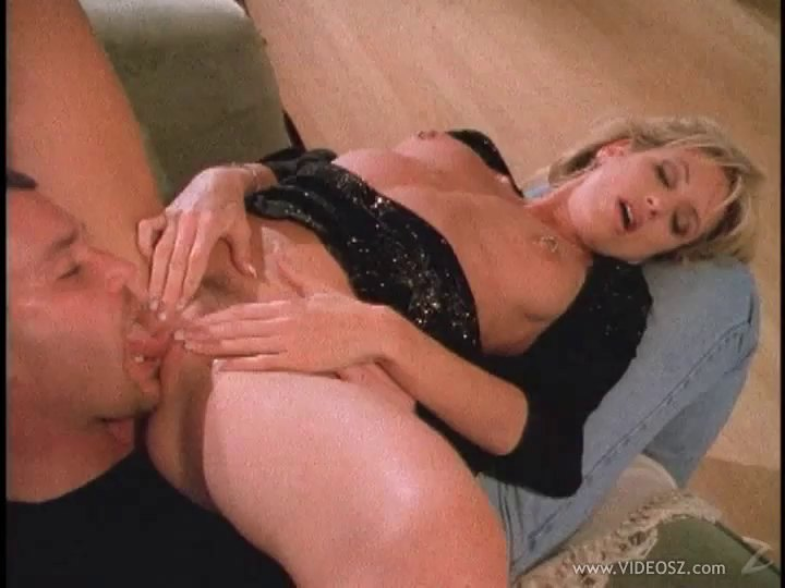 Dashing Blonde Milf Works Up A Sweat On His Stiff Cock