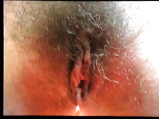 Long pussy lips hairy