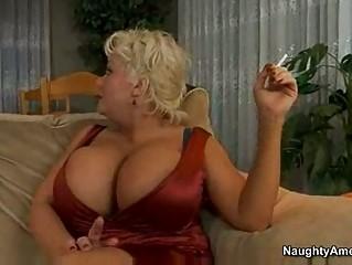 Busty cougar claudia marie seducing sons friend