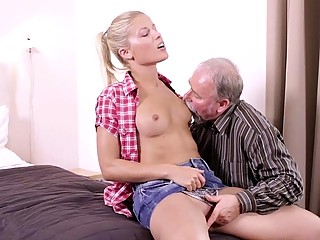 Elena cant believe how good this old man is at sex