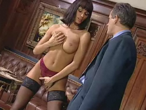 Anita Blonde Seduces Her Boss - Office Sex porn