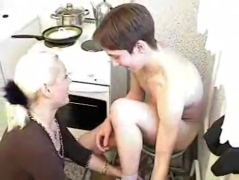 NastyPlace.org - Sexy blonde mom and young boy
