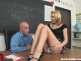 Cute Schoolgirl Seduced By Her Teacher!