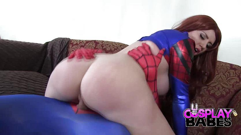 COSPLAY BABES Spiderman likes big boobs | PornTube ®