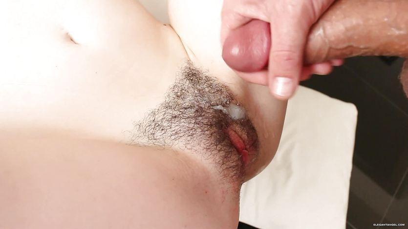 Emma Evins getting her hairy muff creamed | PornTube ®