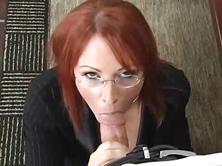 Secretary Kylie Ireland Black Stockings Sex