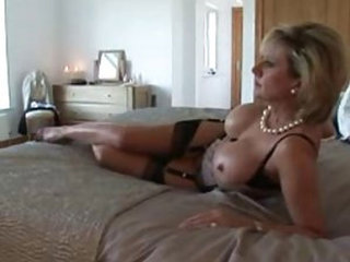 Busty Milf Strips Showers Plays Fingers Dresses and Goes Out - Big Tits porn