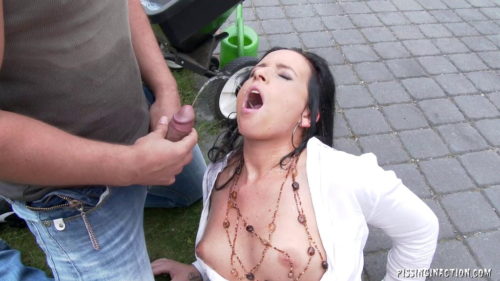 She Has A Pissing Fetish And Needs A Hard Cock In Her Hungry Cunt