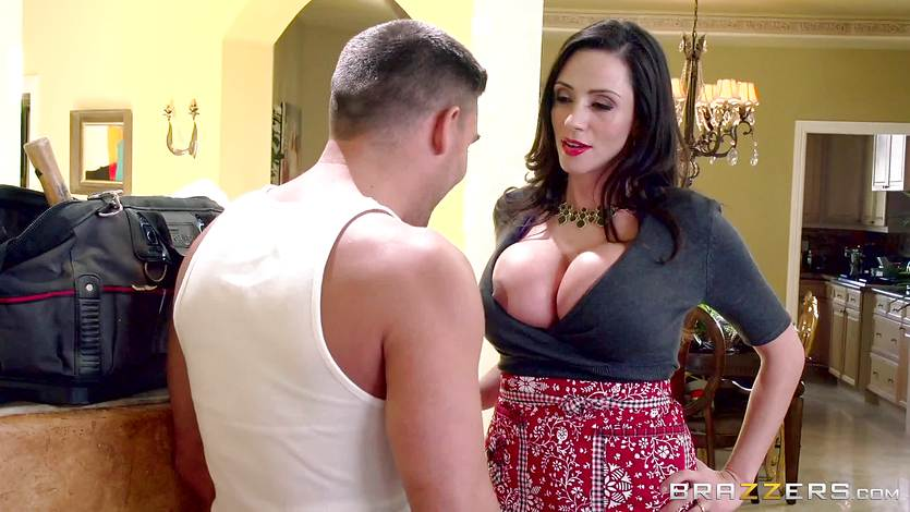 MILF Ariella Ferrera fucks her daughters admirer | PornTube ®