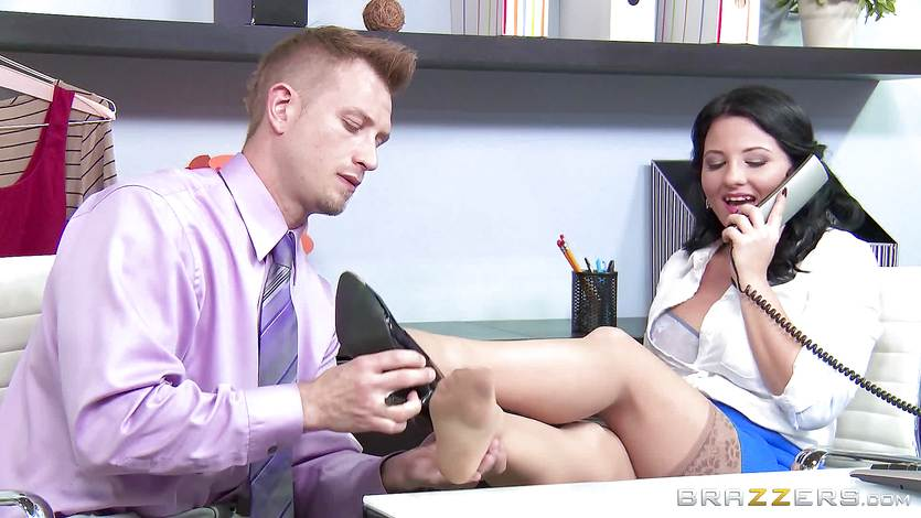 Sex w pracy z kochankiem