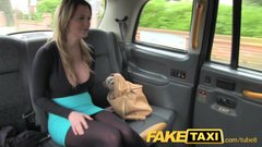 FakeTaxi Stunning blonde with huge tits - Amateur sex video