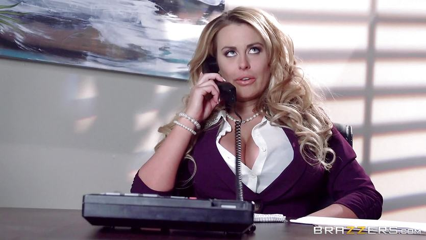 Hot secretary Corinna Blake gets round a cops hard cock | PornTube ®