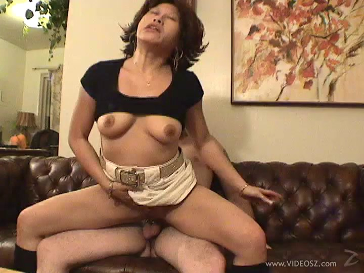 A Naughty MILF Gets A Solid Pounding From A Younger Guy