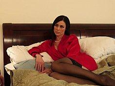 Mommy in lingerie