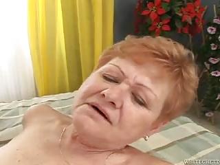 Grandma's Hairy Pussy