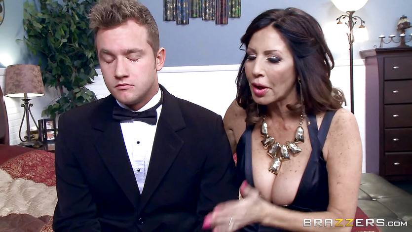 Tara Holiday fucks a toyboy groom before his wedding | PornTube ®