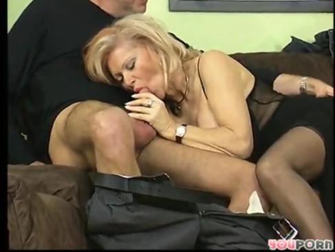 Older women in stockings by 555xv