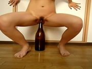 ROKO VIDEO-Huge bottle and Double fisting