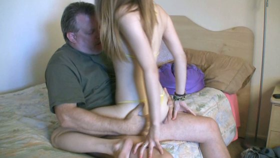 Teen cutie Soleil does an old dude - Older Man porn