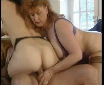 Sexy And Horny Mature German Couple Are Making It Out