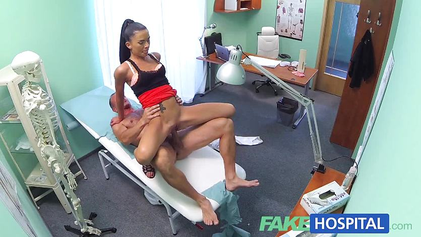 FakeHospital Sexy sales lady makes doctor cum twice | PornTube ®