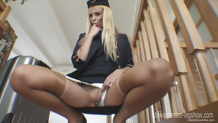Watch Leggy Stewardess Erica | PornTube ®