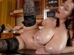 Lunchtime with Lucie - Erotic sex video