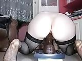 Amateur Black Dildo White Wife