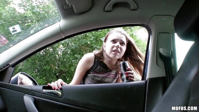 Marina Visconti gets her pussy slammed by a stranger | PornTube ®