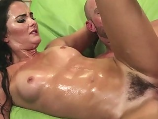 Stunningly Hot MILF Gets Her Hairy Pussy Banged