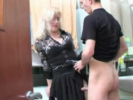 She 47 years and he 19 years - Mature porn