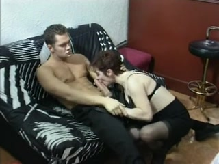Horny Milf Slams A Thick Boner Deep In Her Hairy Cunt After Delivering A Spicy Blowjob