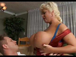 Busty Mature Waits Young Guy.M13