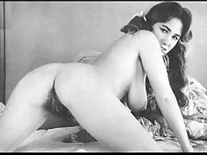 Foxy Vintage Babes With Hairy Pussies - Bonerific Compilation Vid