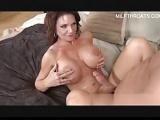 redhead milf get big boobs