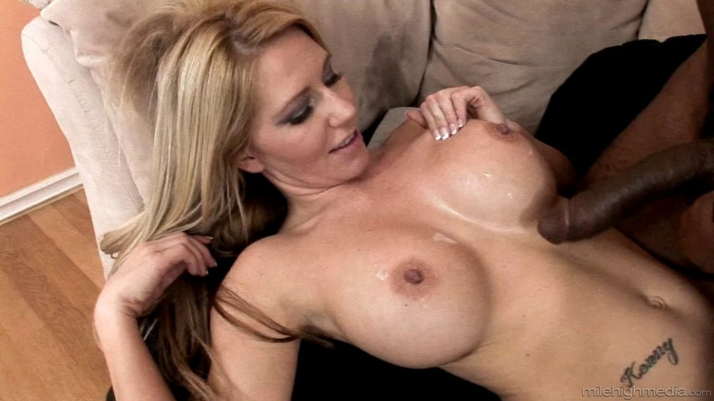 A White Girl With A Big Rack Enjoys Some Monster Black Cock