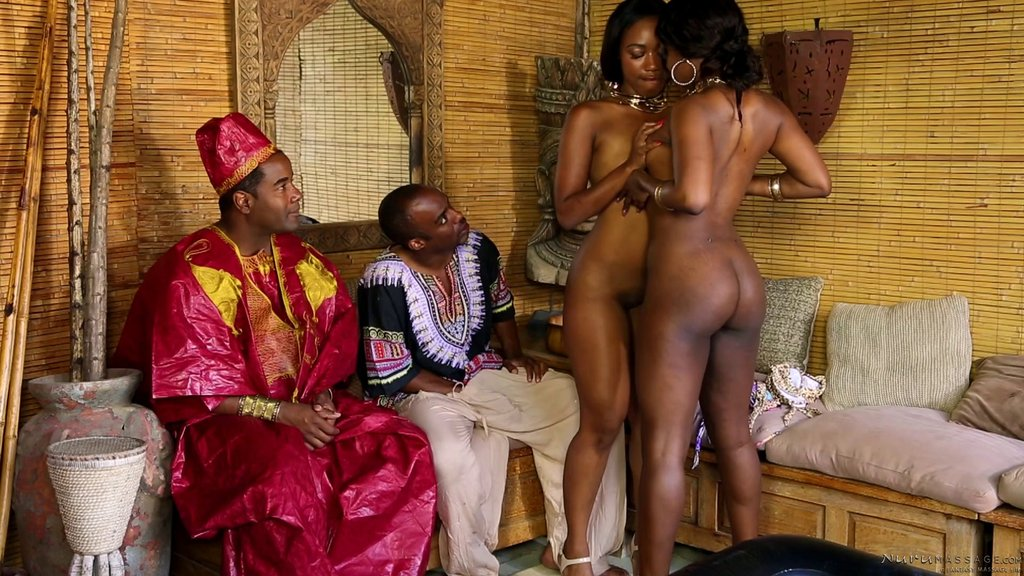 Afrykański cipki seks