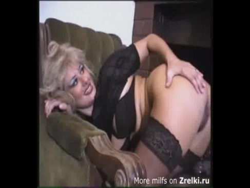 Cute mature milf mom in stockings hard anal with NOT her son