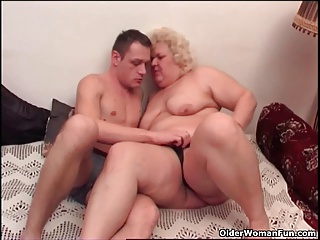 Chubby granny loves to give and get oral pleasure